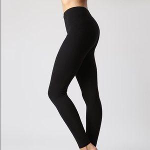 Full Length Black Cotton Forever 21 Leggings EUC